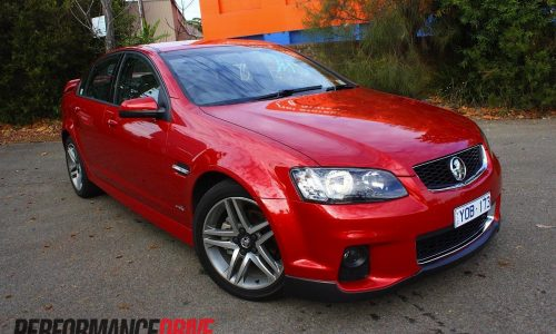 2012 Holden Commodore SV6 Series II review (video)
