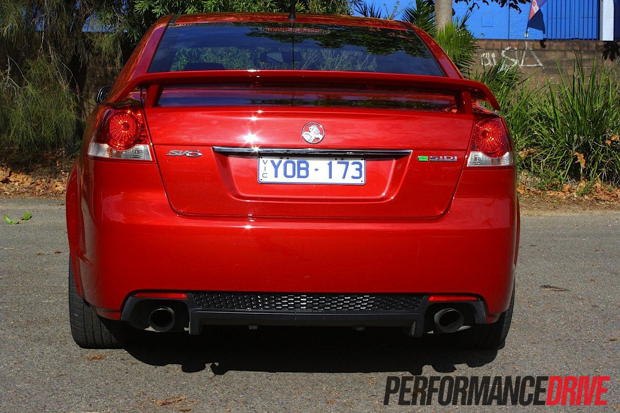 2012 Holden Commmodore SV6 Series II rear