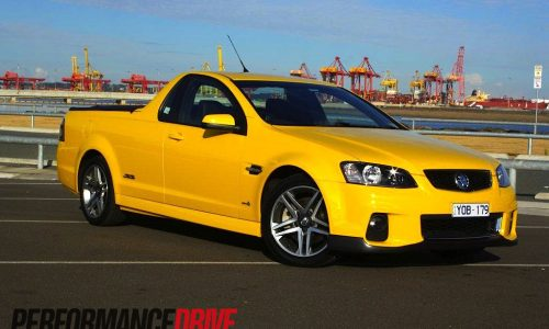 2012 Holden Commodore Ute SS VE Series II review (video)