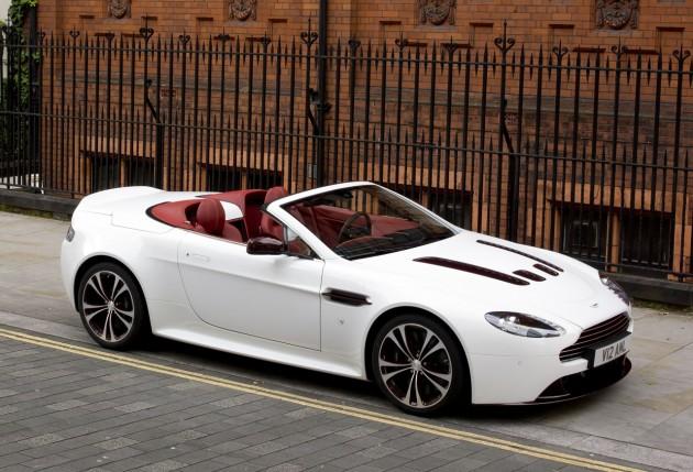 Aston Martin V12 Vantage Roadster On Sale In Australia