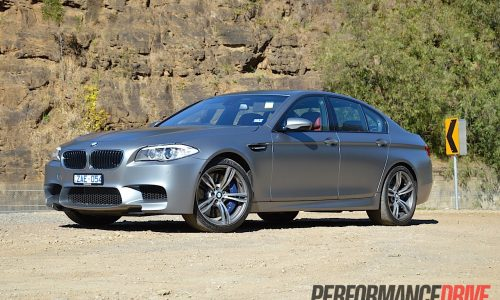 2012 BMW M5 review (video)