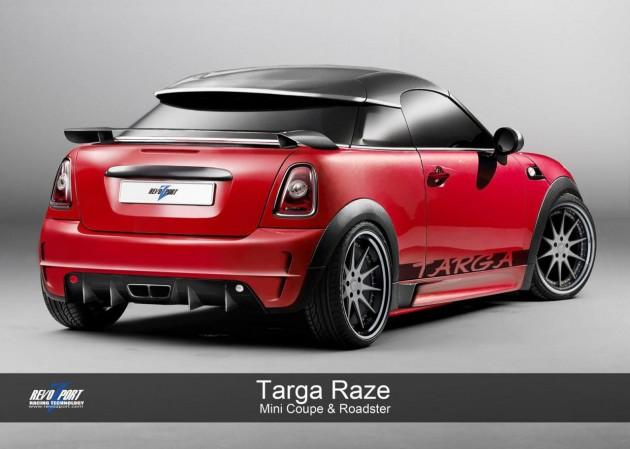 Revozport Mini Coupe Targa Raze Kit Is Like A Wasp On Steroids