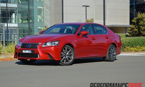 2012 Lexus GS 450h F Sport review (video)