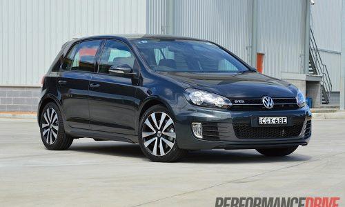 2012 Volkswagen Golf GTD review (video)