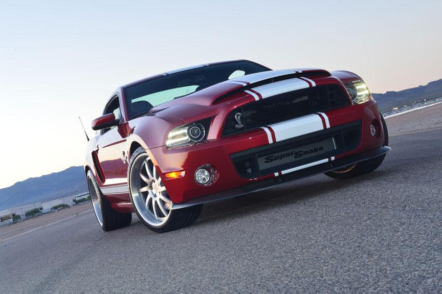 2013 Shelby GT500 Super Snake gets power boost - 850hp ...
