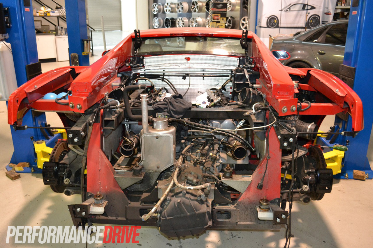Ramspeed Lamborghini Gallardo Engine Removed