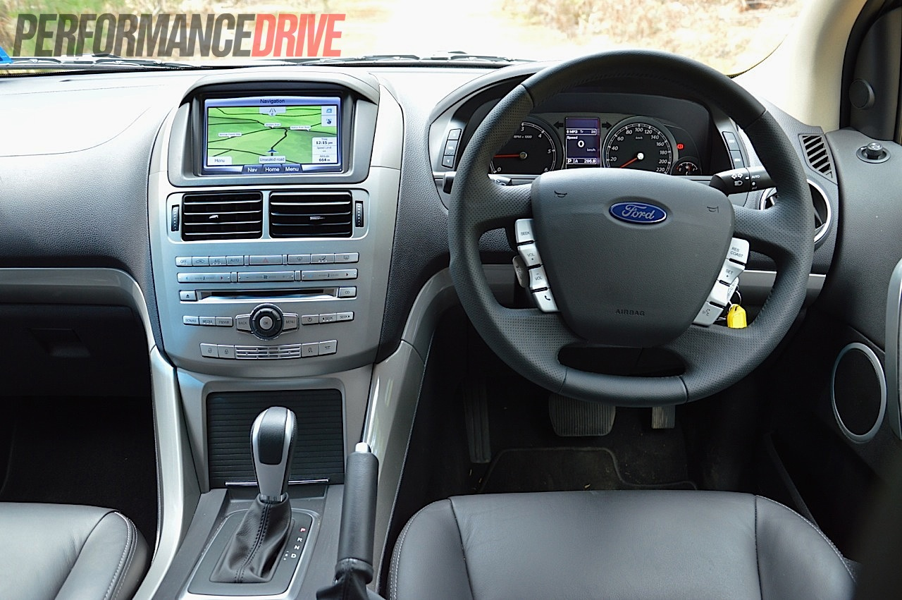 2012 Ford Territory Titanium TDCi RWD review (video) - PerformanceDrive