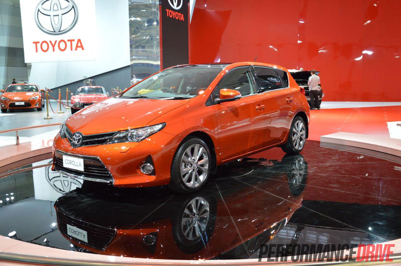 2012 Toyota Corolla Revealed On Sale In Australia From 19 990 Performancedrive