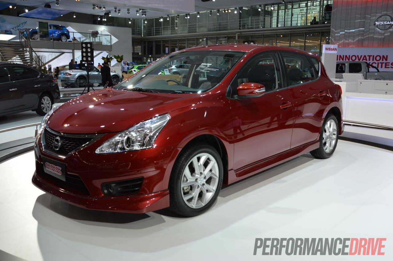 2013 Nissan Pulsar Sss Revealed At 2012 Australian Motor