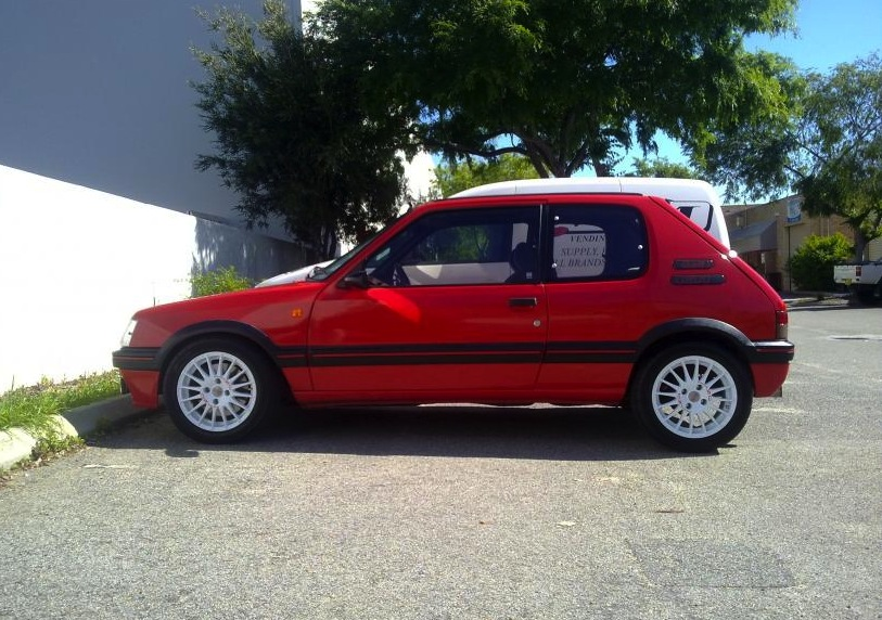 For Sale Peugeot 205 Gti With T16 Engine Only One In