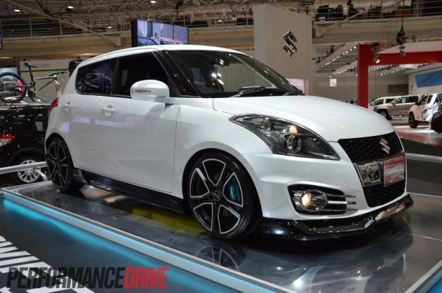 Suzuki Swift Sport Custom Revealed At 2012 Australian
