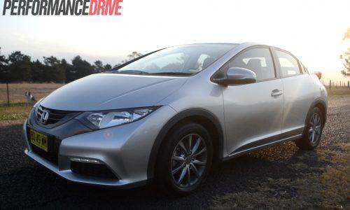 2012 Honda Civic VTi-S Hatch review (video)