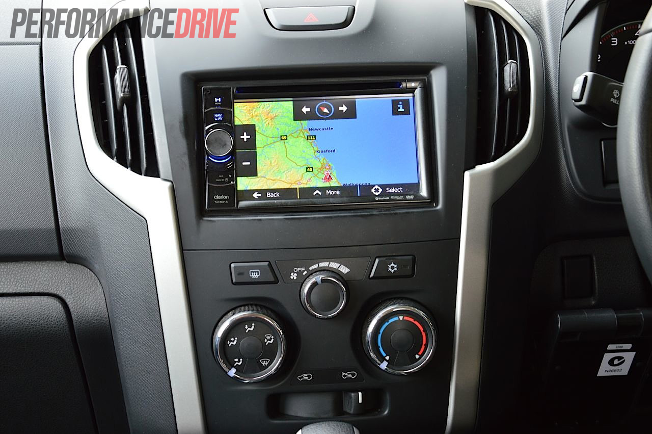 2012 Isuzu D Max Ls Terrain 4x4 Review Performancedrive