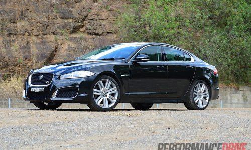 2012 Jaguar XFR review (video)