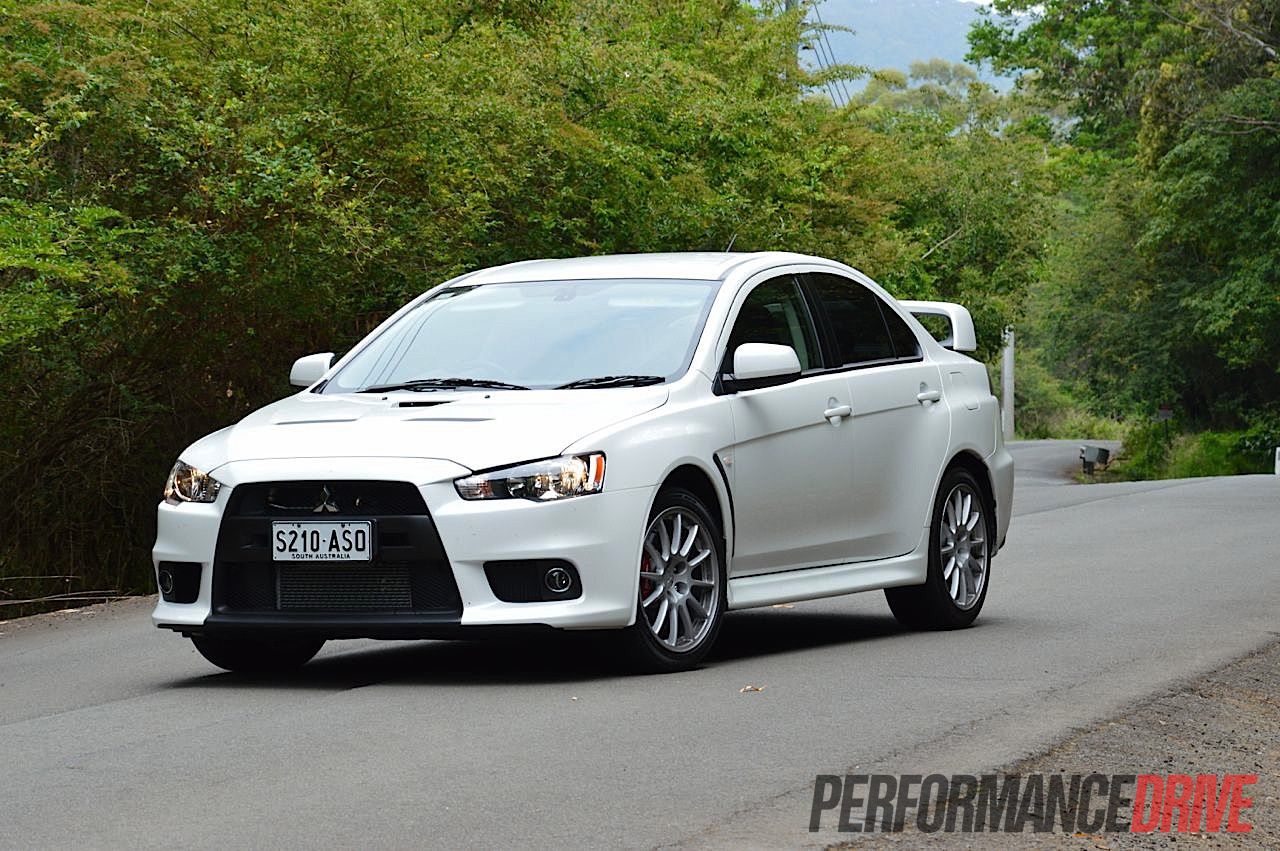 Marvelous 2013 Mitsubishi Lancer Evo X Starlight Pearl White