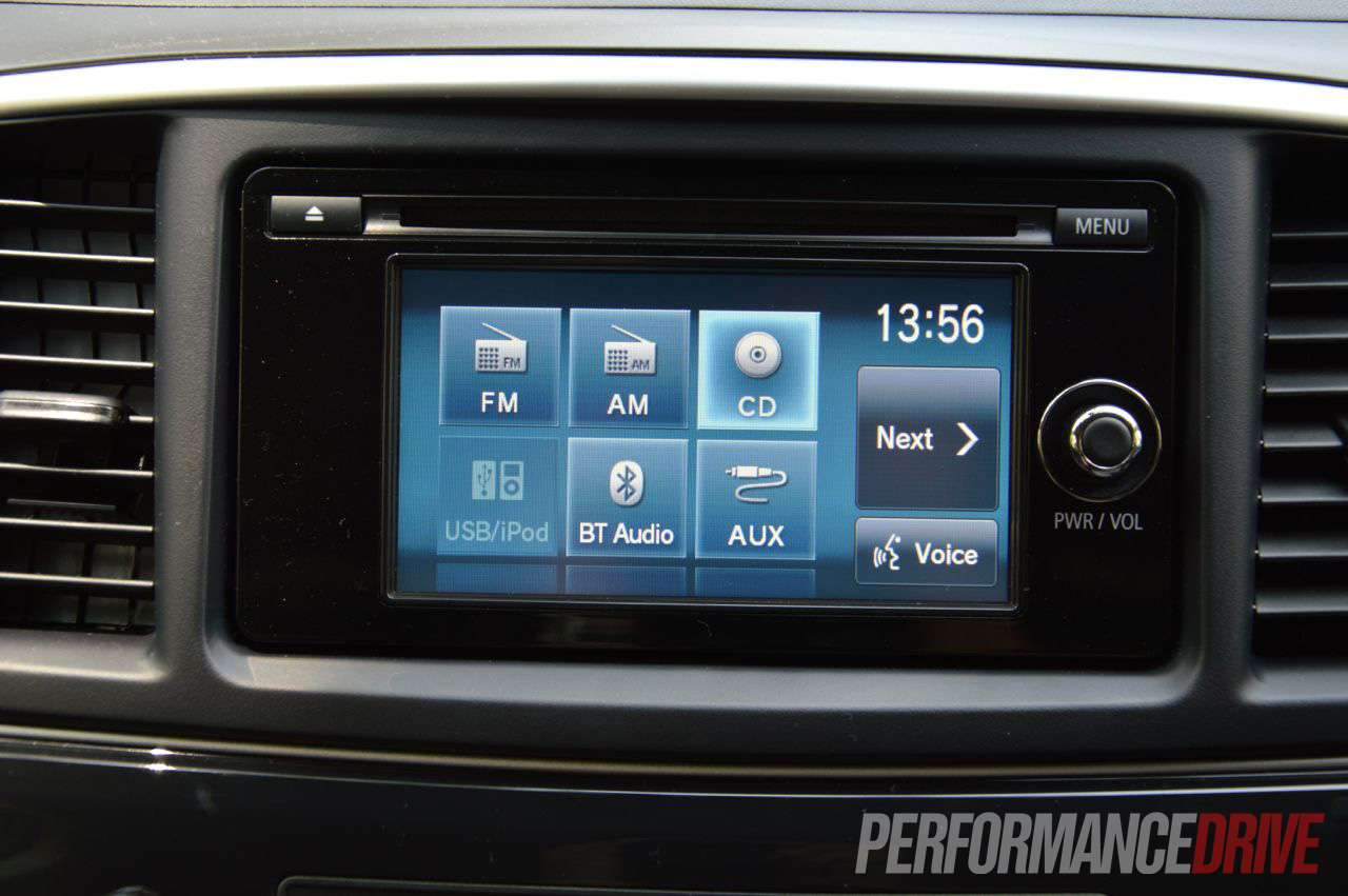 Mitsubishi Lancer Evo X Multimedia Touch Screen