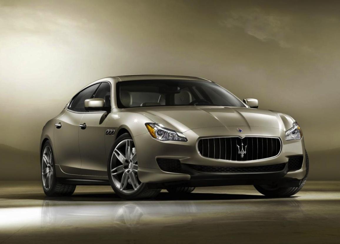 2014 Maserati Quattroporte getting turbo Pentastar V6 ...