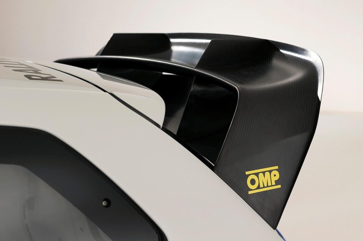 Volkswagen Polo Wrc Car Rear Spoiler