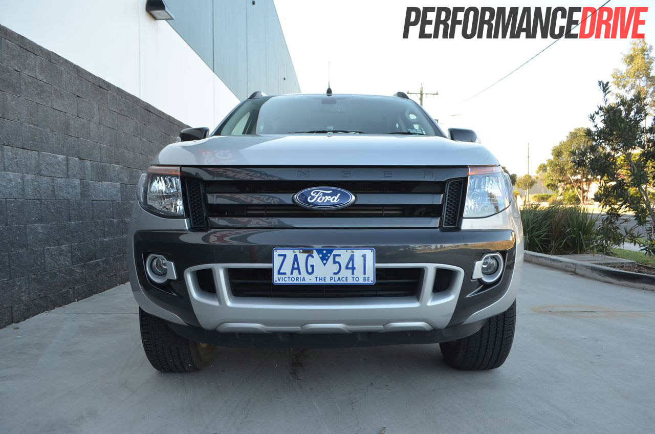 Ford Ranger Wildtrak Review Performancedrive