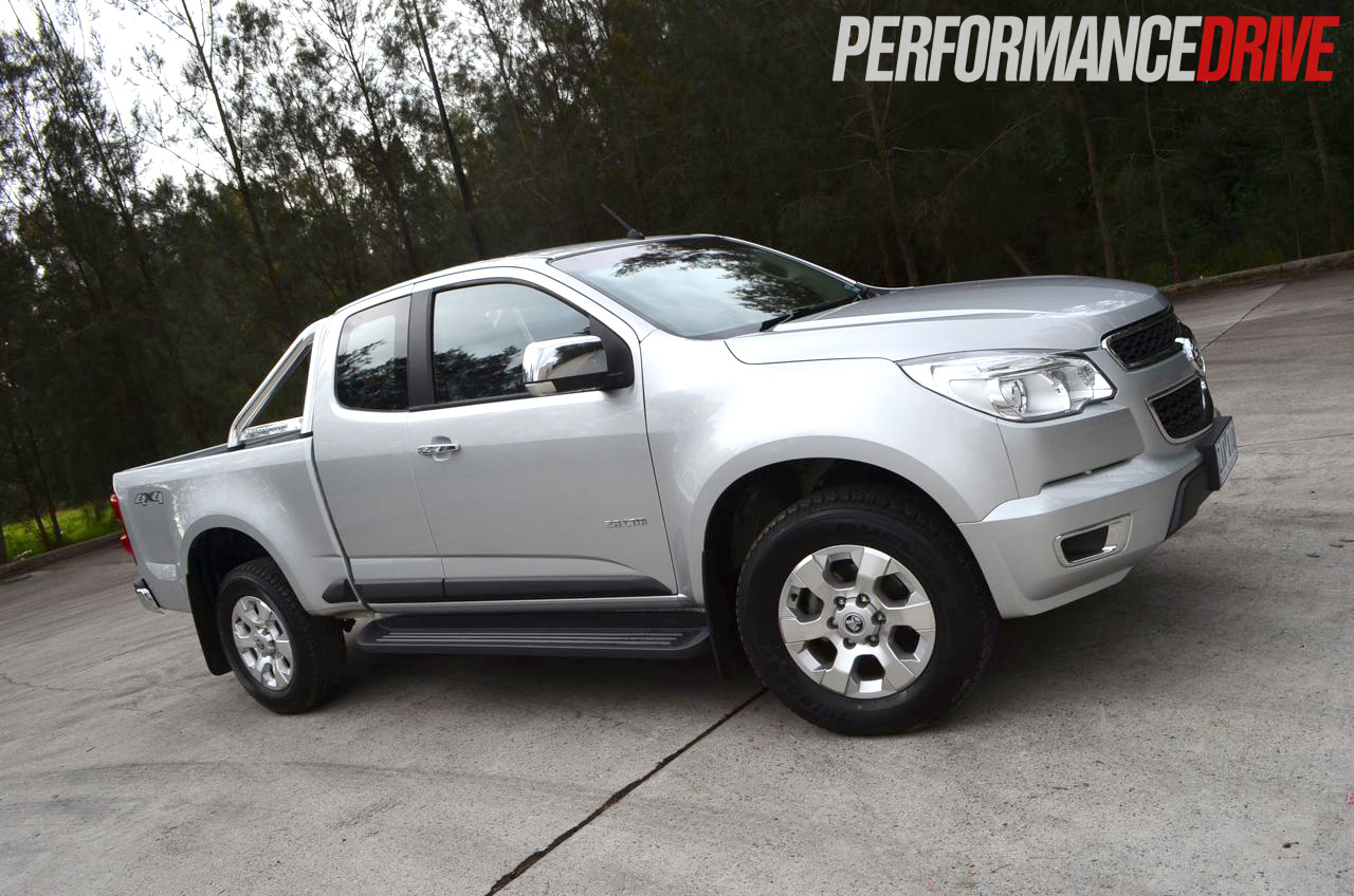 2012 Holden Colorado LTZ Australia