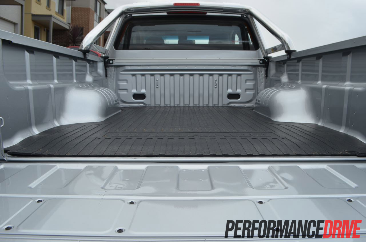 2012 Holden Colorado LTZ rear tray
