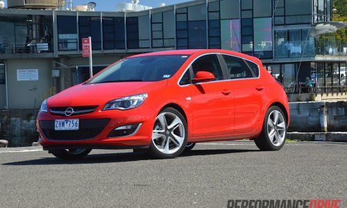 2012 Opel Astra Sport review (video)