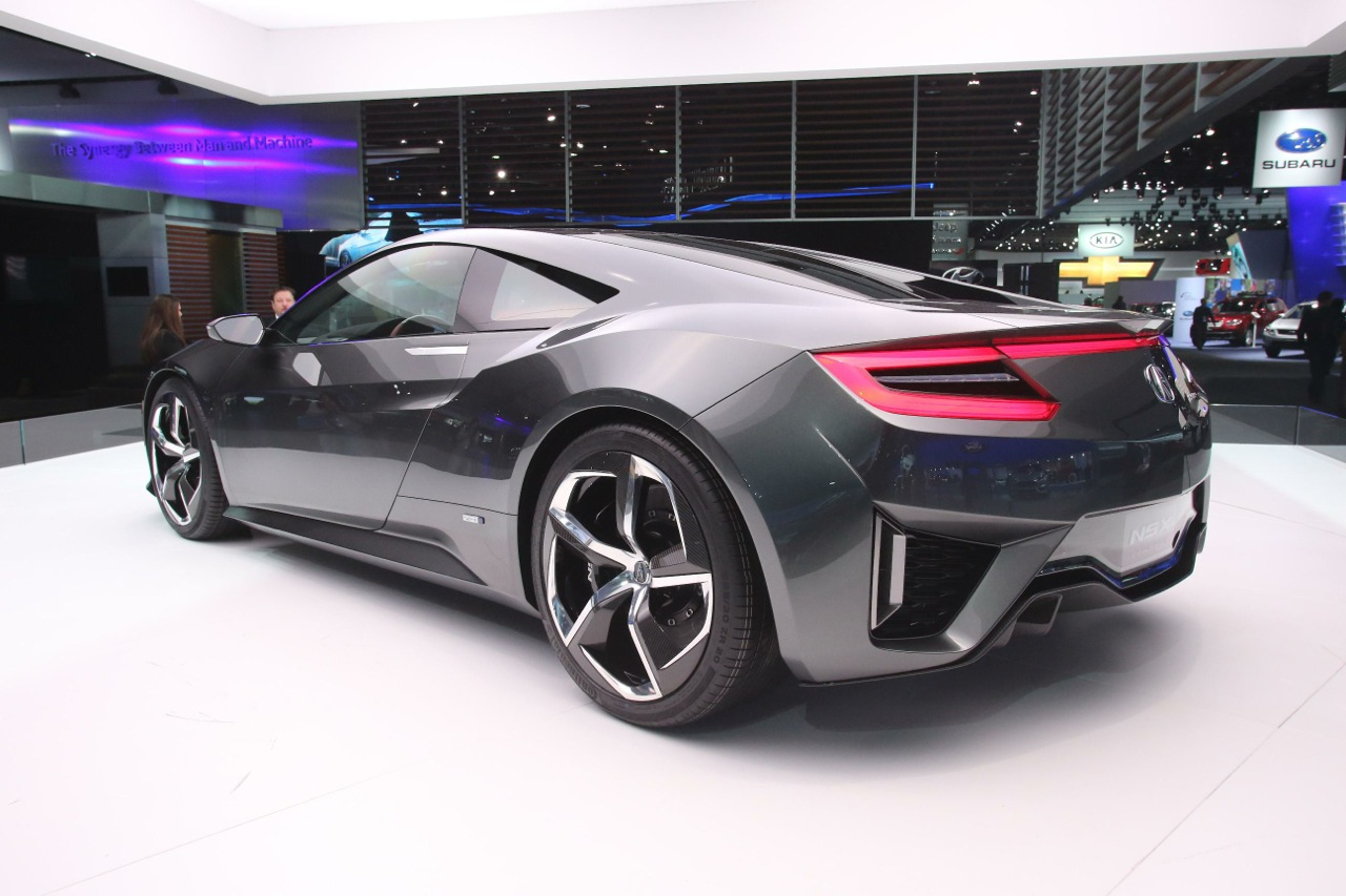 New Honda NSX concept previews interior for the first time ...