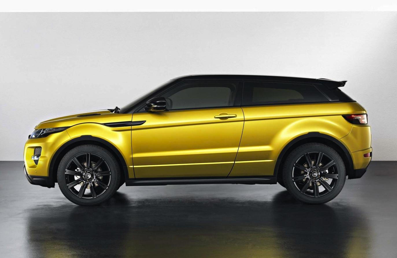 Range Rover Evoque Sicilian Yellow Edition On Sale Q3