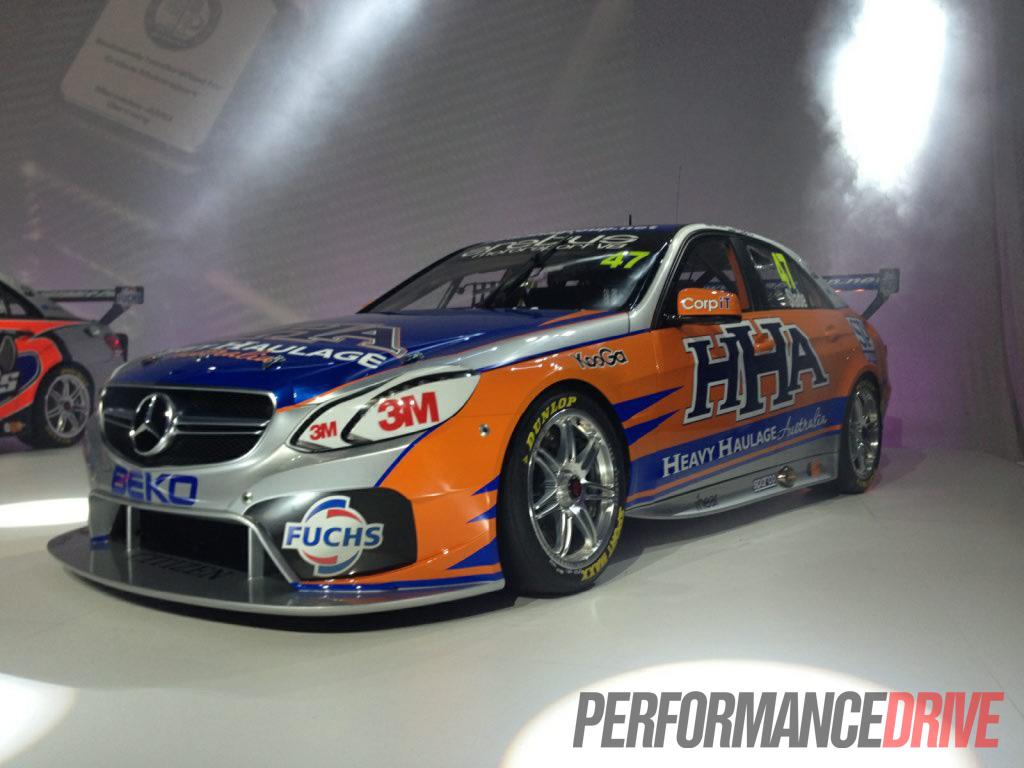 2013 Mercedes-Benz V8 Supercar reveaaled - PerformanceDrive