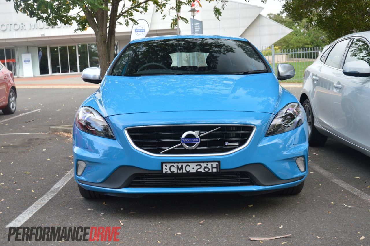 2013 Volvo V40 review - Australian launch - PerformanceDrive