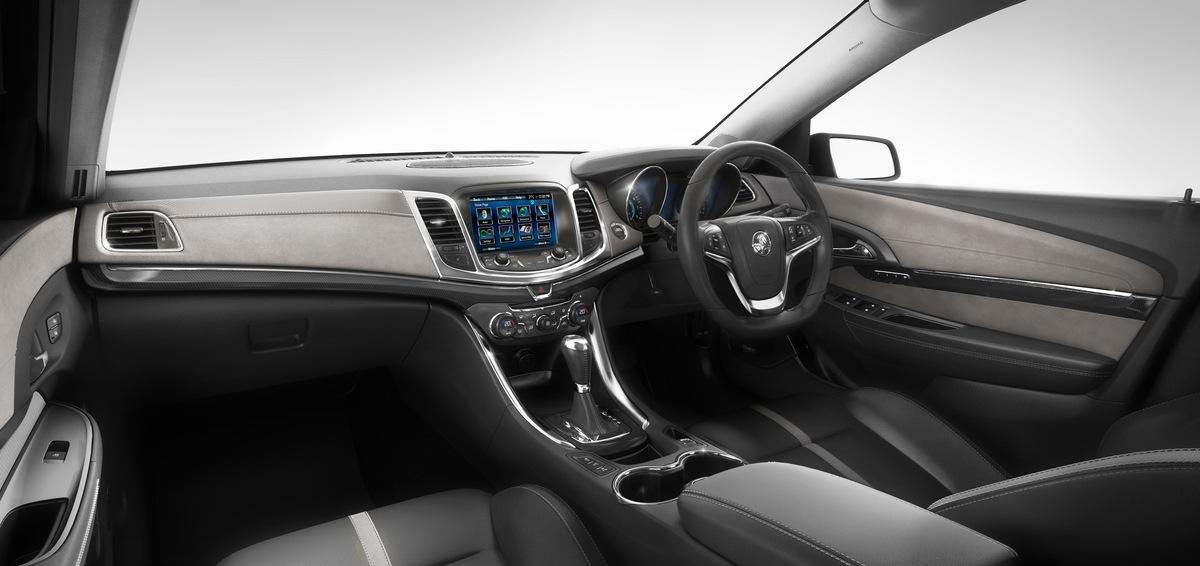 2014 Holden Vf Commodore Calais V Black Interior