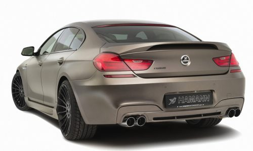 Hamann BMW 6 Series Gran Coupe upgrade kit now available