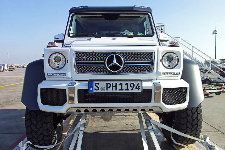 Mercedes Benz G 63 Amg 6x6 Ute Spotted Performancedrive