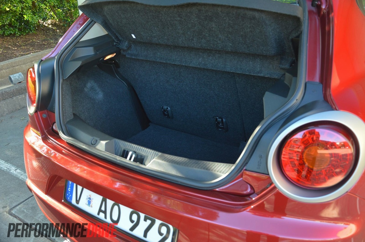 Alfa Romeo Mito Boot Space
