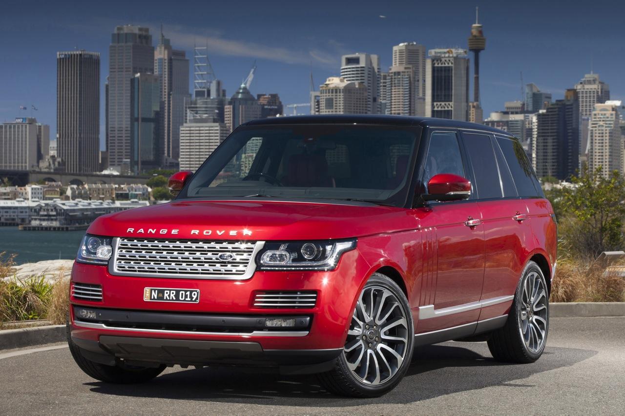 2013 range rover proving highly popular in australia