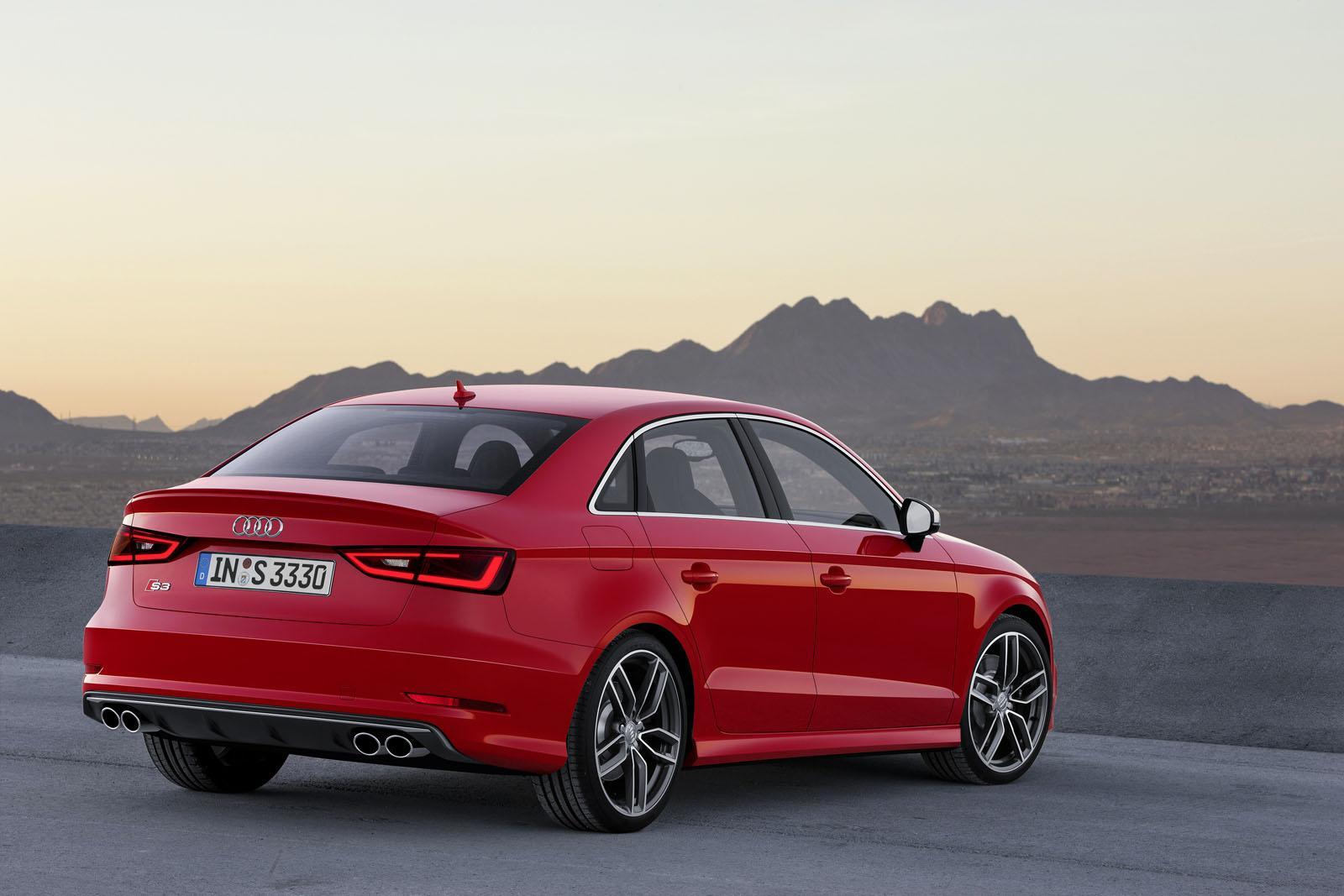 2014 Audi S3 And A3 Sedan Revealed Performancedrive