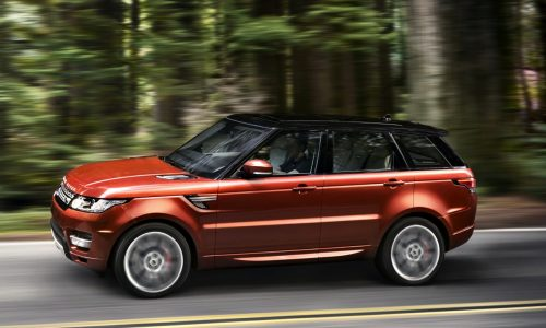 2014 Range Rover Sport unveiled, lighter and faster