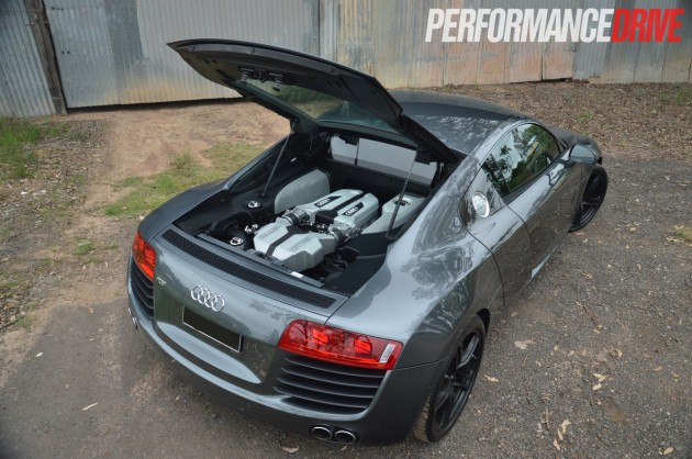 Video RamSpeed Audi R V With Heffner Twinturbo Kit - Audi r8 engine