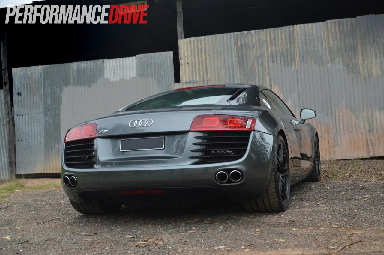 Video: RamSpeed Audi R8 V8 with Heffner twin-turbo kit - PerformanceDrive