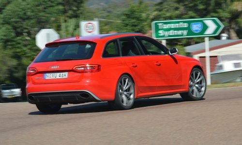 2013 Audi RS 4 Avant review – quick spin (video)