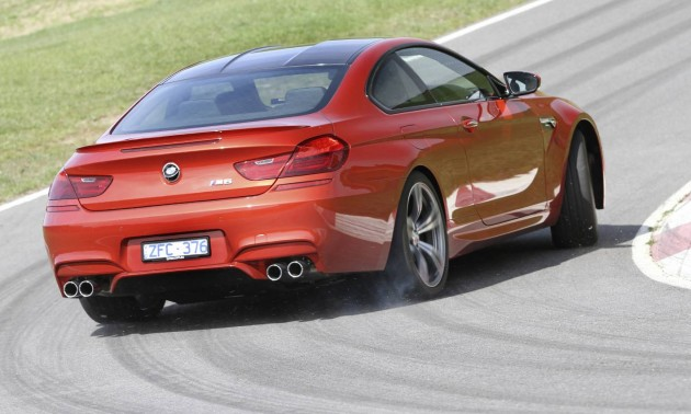 2013 BMW M6 Coupe drifting
