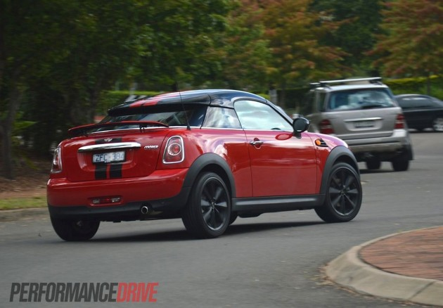 2013 MINI Coupe Cooper Australia