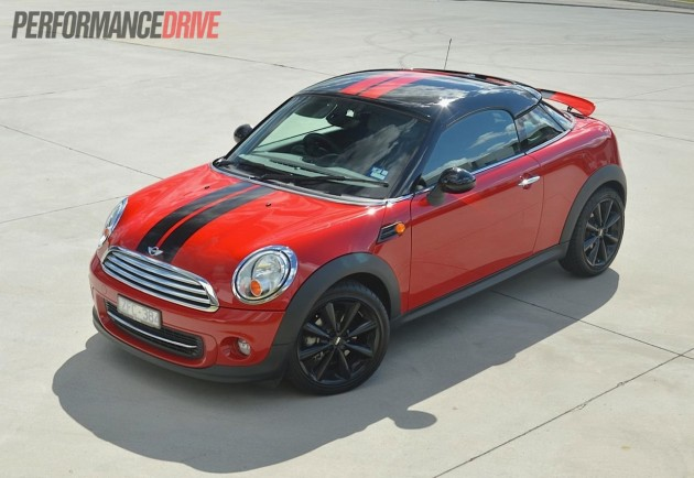 2013 MINI Coupe Cooper Chilli Red