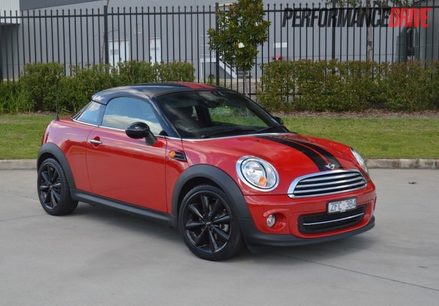 2013 MINI Coupe Cooper PerformanceDrive
