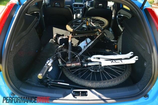 2013 Volvo V40 T5 maximum boot space