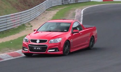 Video: 2014 Holden VF SS Ute spotted testing on the Nurburgring