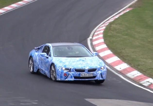 BMW i8 prototype Nurburgring