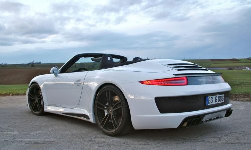 Gemballa gives Porsche 911 Carrera S Cabrio cool styling kit