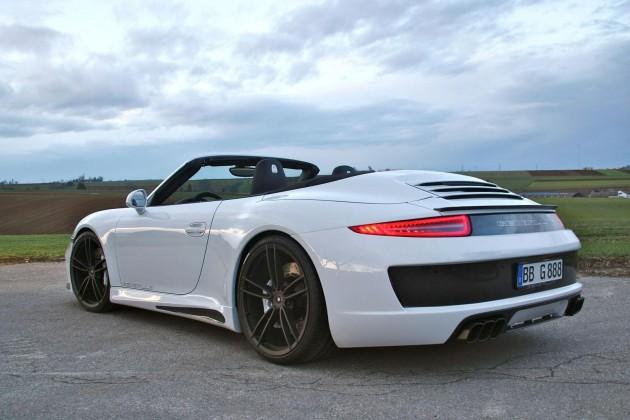 Gemballa Porsche 911 Carrera S Cabrio back