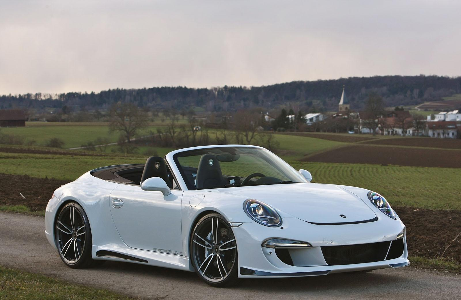 Gemballa Gives Porsche 911 Carrera S Cabrio Cool Styling Kit Performancedrive